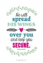 Productafbeelding WK enjoy he will spread his wings over y