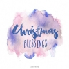 Productafbeelding Wk kerst christmas blessings