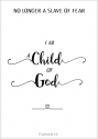 Productafbeelding Kaart child of God