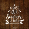 Productafbeelding Kerstkaart Christ our Savior is born