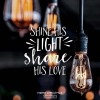 Productafbeelding Kerstkaart Shine His share His love