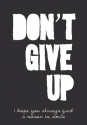 Productafbeelding WK puur don't give up