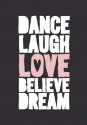 Productafbeelding WK puur dance laugh love