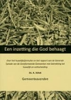 Productafbeelding Een inzetting die God behaagt
