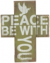 Productafbeelding Wooden mini cross peace
