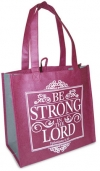 Productafbeelding Eco shopping bag - Be strong in the Lord