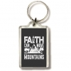 Productafbeelding Sleutelhanger faith can move mountains