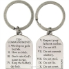 Productafbeelding Sleutelhanger Keyring The Ten Commandments