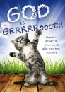 Productafbeelding Poster 50x70 God is groot