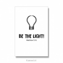 Productafbeelding Kaart Be the light