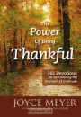 Productafbeelding The Power of Being Thankful
