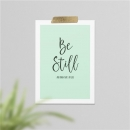 Productafbeelding Kaart A6 'Be still and know that I am God'