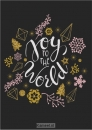 Productafbeelding Kaart kerst 'Joy to the world'