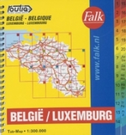 Productafbeelding Routiq Belgie / Luxemburg tab map