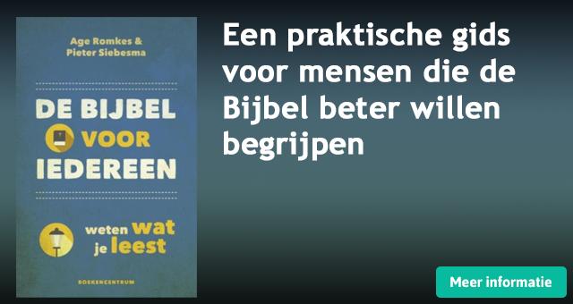 Banner De Bijbel voor iedereen - Age Romkes - Pieter Siebesma