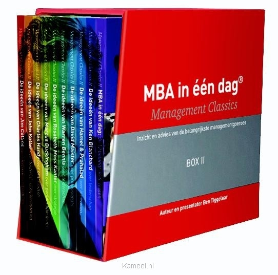 Grote afbeelding MBA in 1 dag - Management Classics II