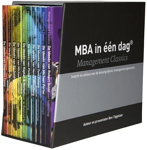 Grote afbeelding MBA in 1 dag - Management Classics I
