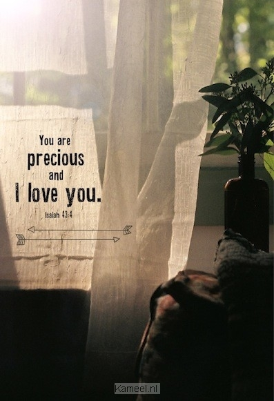 Grote afbeelding Wk you are precious