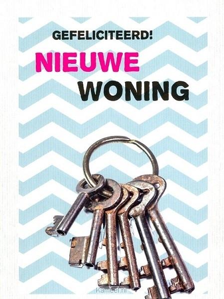 Bekend Kaart gefeliciteerd nieuwe woning | Leef! | Kaarten | Kameel.nl @EX78