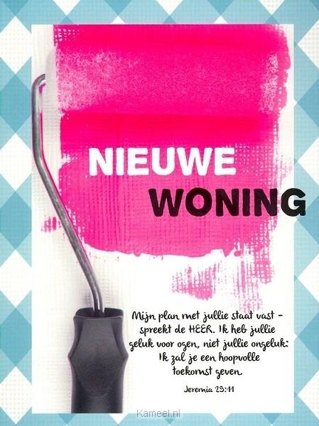 New Kaart nieuwe woning | Leef! | Kaarten | Kameel.nl #ZV22