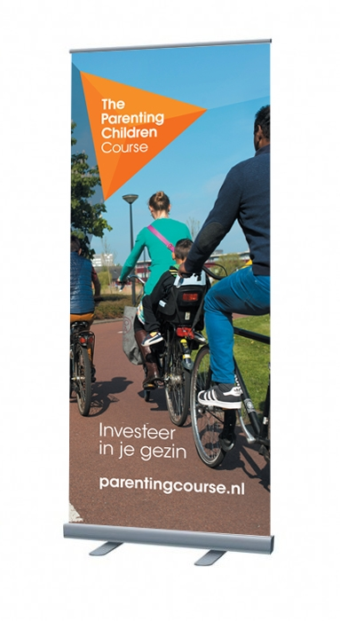 Grote afbeelding Parenting Children Course Roll-up banners