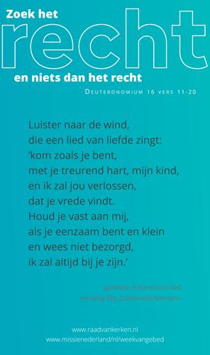 Gebed Missienederland Kameelnl