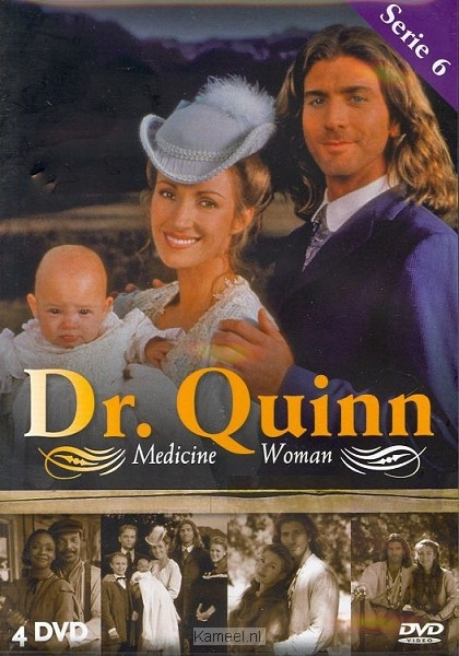 Grote afbeelding Dvd dr quinn serie 6 scanavo box